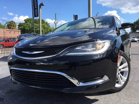 2016 Chrysler 200 for sale at LUXURY AUTO MALL in Tampa FL