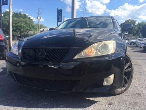 2007 Lexus IS 250 for sale at LUXURY AUTO MALL in Tampa FL