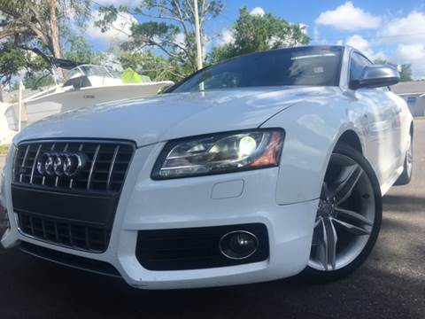 2008 Audi S5 for sale at LUXURY AUTO MALL in Tampa FL