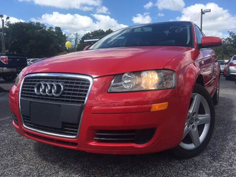 2006 Audi A3 for sale at LUXURY AUTO MALL in Tampa FL