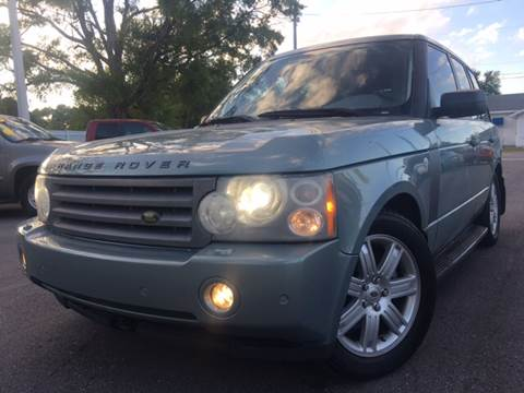 2008 Land Rover Range Rover for sale at LUXURY AUTO MALL in Tampa FL