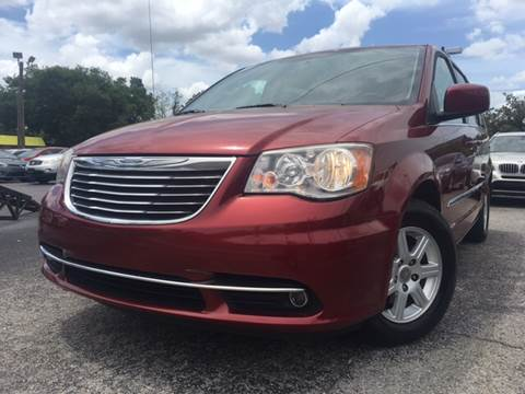 2012 Chrysler Town and Country for sale at LUXURY AUTO MALL in Tampa FL