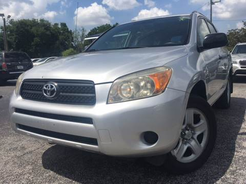 2007 Toyota RAV4 for sale at LUXURY AUTO MALL in Tampa FL