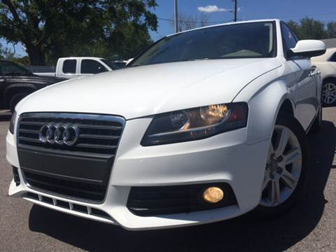 2011 Audi A4 for sale at LUXURY AUTO MALL in Tampa FL