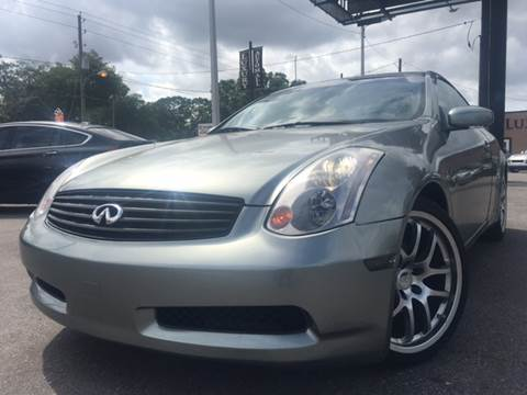 2003 Infiniti G35 for sale at LUXURY AUTO MALL in Tampa FL