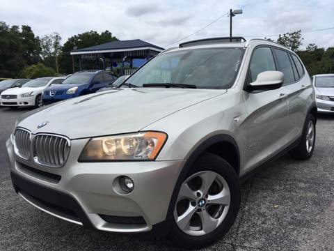 2011 BMW X3 for sale at LUXURY AUTO MALL in Tampa FL