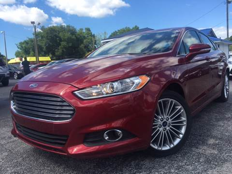 2014 Ford Fusion for sale at LUXURY AUTO MALL in Tampa FL