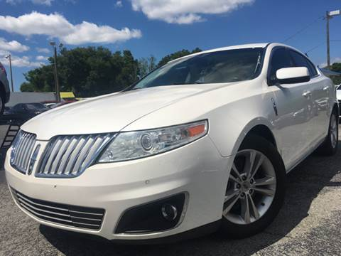 2011 Lincoln MKS for sale at LUXURY AUTO MALL in Tampa FL