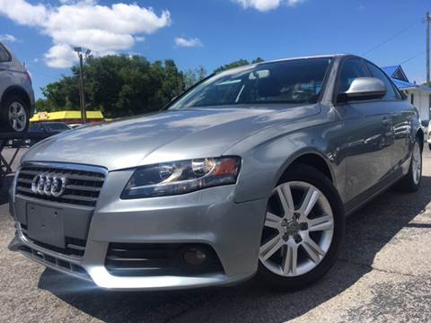 2009 Audi A4 for sale at LUXURY AUTO MALL in Tampa FL