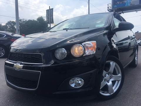 2012 Chevrolet Sonic for sale at LUXURY AUTO MALL in Tampa FL