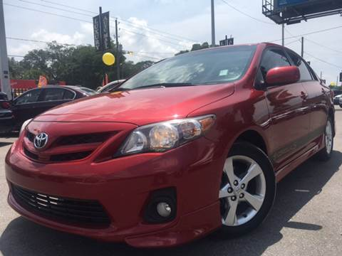 2011 Toyota Corolla for sale at LUXURY AUTO MALL in Tampa FL
