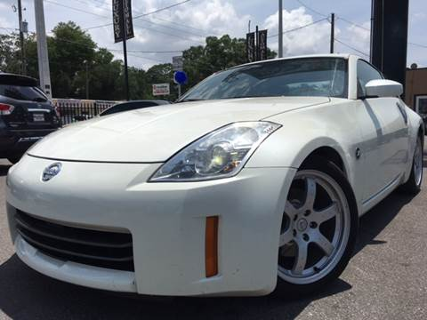2006 Nissan 350Z for sale at LUXURY AUTO MALL in Tampa FL