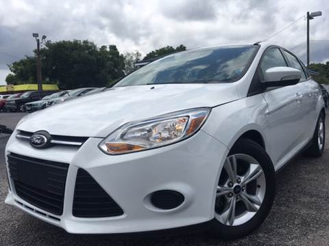 2014 Ford Focus for sale at LUXURY AUTO MALL in Tampa FL