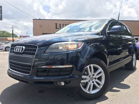 2009 Audi Q7 for sale at LUXURY AUTO MALL in Tampa FL