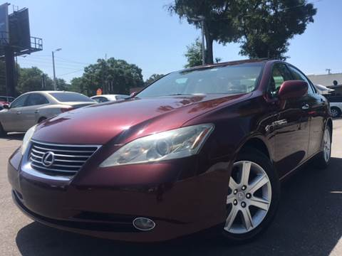 2007 Lexus ES 350 for sale at LUXURY AUTO MALL in Tampa FL
