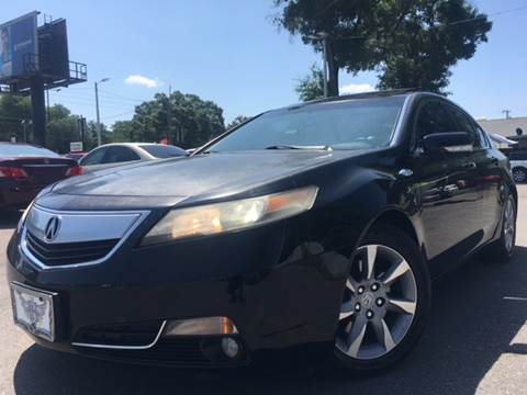 2012 Acura TL for sale at LUXURY AUTO MALL in Tampa FL