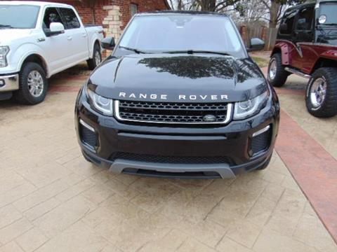 2018 Land Rover Range Rover Evoque for sale in Duncan, OK