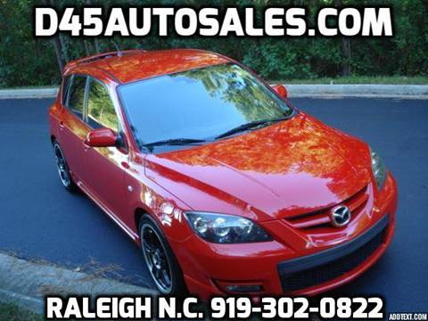 2008 Mazda MAZDASPEED3 for sale in Raleigh, NC