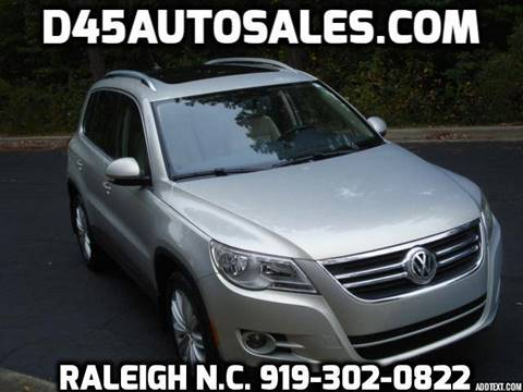 2011 Volkswagen Tiguan for sale in Raleigh, NC