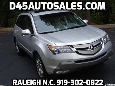2007 Acura MDX for sale in Raleigh, NC