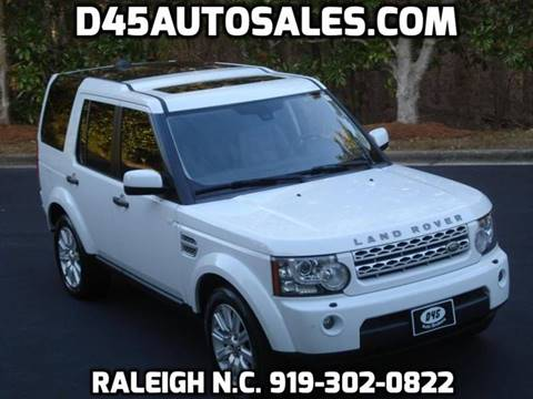2013 Land Rover LR4 for sale in Raleigh, NC