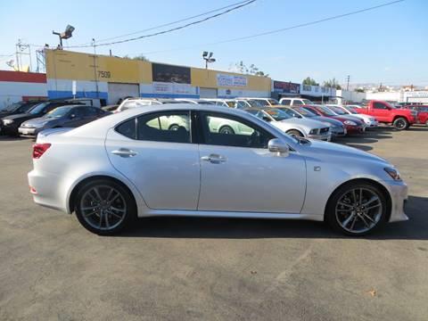 2012 Lexus IS 250 for sale in Reseda, CA