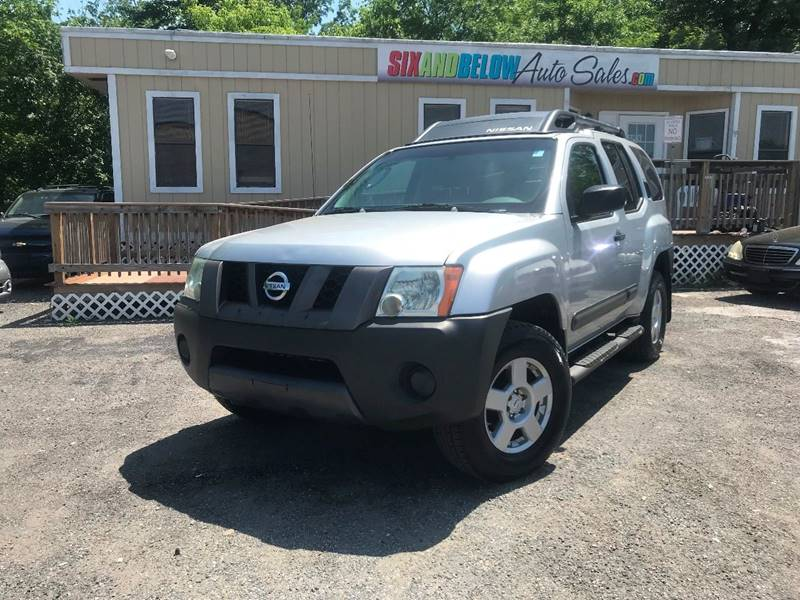 2005 Nissan Xterra S 4wd 4dr Suv In Rockville Md Six And Below Auto Sales