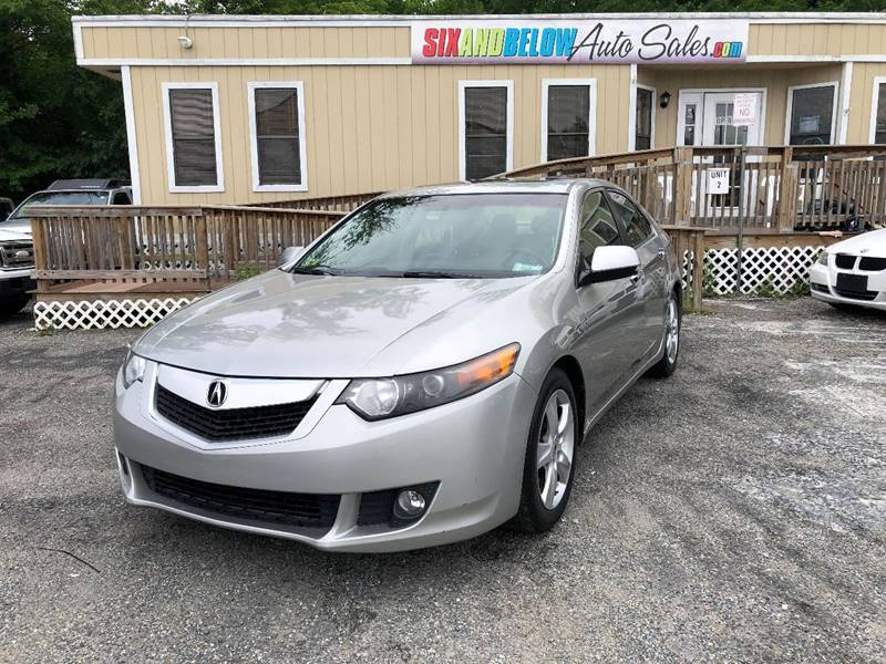2010 Acura Tsx 4dr Sedan 5a W Technology Package In Rockville Md Six And Below Auto Sales