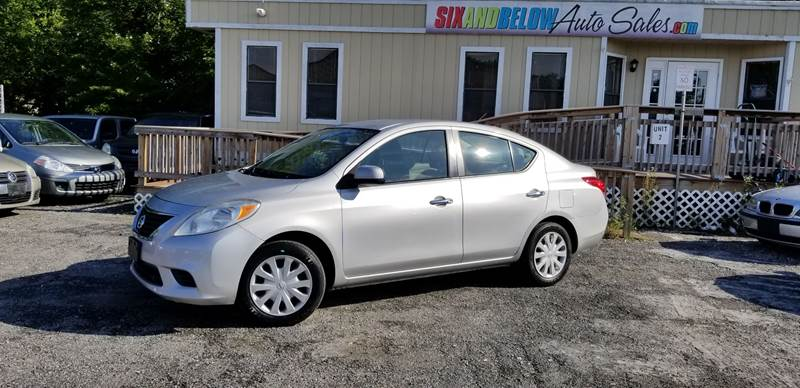 2012 Nissan Versa 16 S 4dr Sedan Cvt In Rockville Md Six And