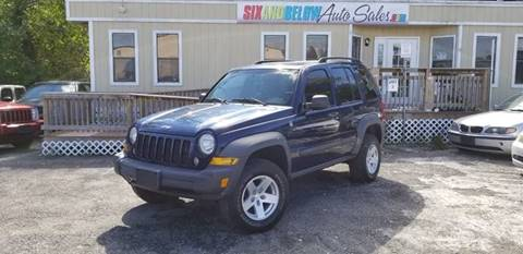 2007 Jeep Liberty For Sale At Six And Below Auto Sales In Rockville Md