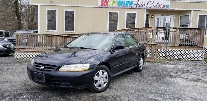 2002 honda accord lx 4dr sedan in rockville md six and below auto