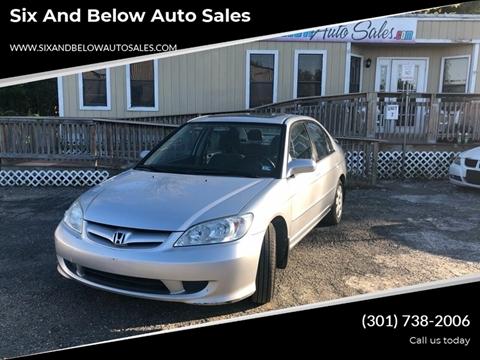 2005 Honda Civic for sale in Rockville, MD