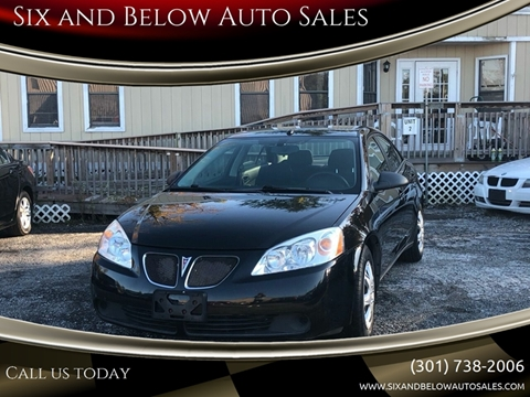 2008 Pontiac G6 for sale in Rockville, MD