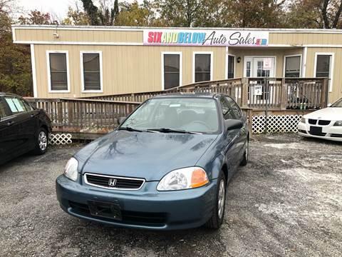 1998 Honda Civic for sale in Rockville, MD