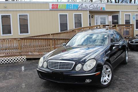 2003 Mercedes-Benz E-Class for sale in Rockville, MD