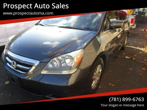 2006 Honda Odyssey for sale in Waltham, MA