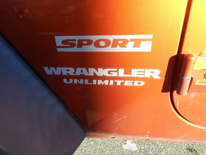 2011 Jeep Wrangler Unlimited 4x4 Sport 4dr SUV - Waltham MA