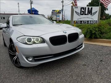 2011 BMW 5 Series for sale in Cumming, GA