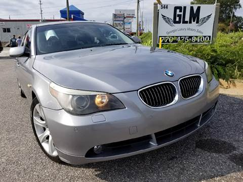 2005 BMW 5 Series for sale in Cumming, GA