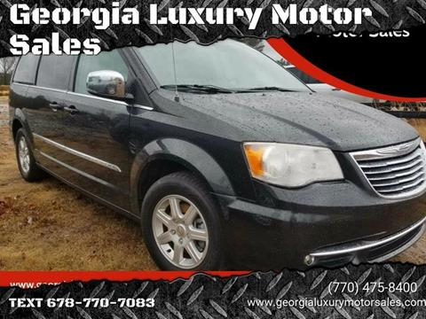2012 Chrysler Town and Country for sale in Cumming, GA
