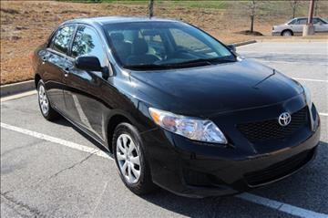 2010 Toyota Corolla for sale in Cumming, GA