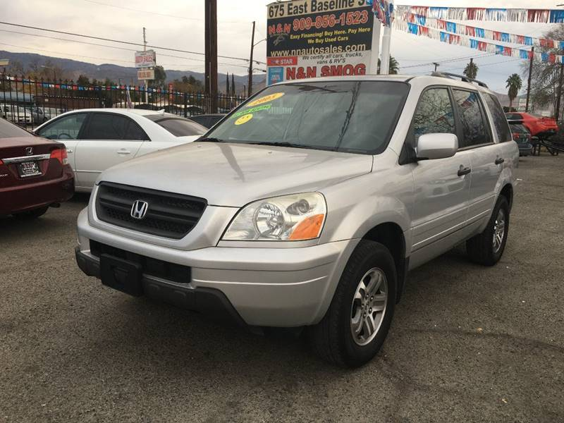 2005 Honda Pilot For Sale At N U0026 N Auto Sales Inc In San Bernardino CA