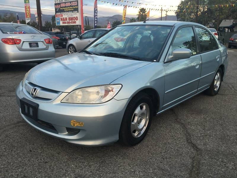 2005 Honda Civic For Sale At N U0026 N Auto Sales Inc In San Bernardino CA