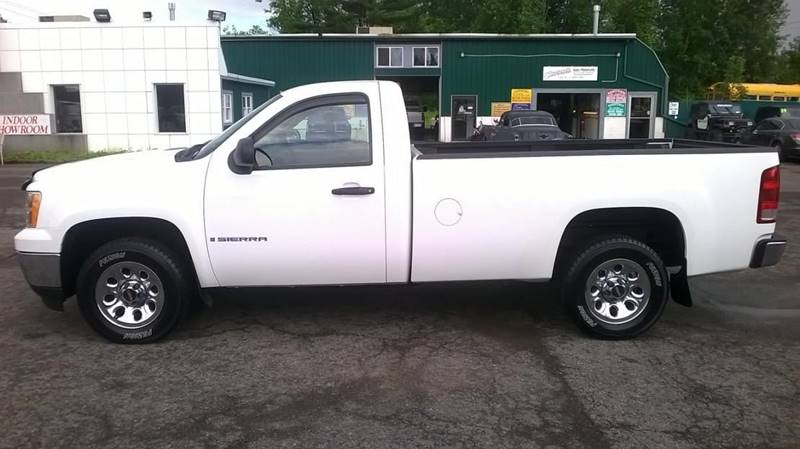2008 GMC Sierra 1500 2WD Work Truck 2dr Regular Cab 8 ft. LB - Central Square NY
