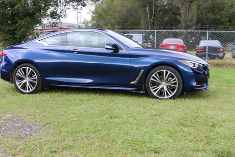 2017 Infiniti Q60 Coupe for sale in Tampa FL
