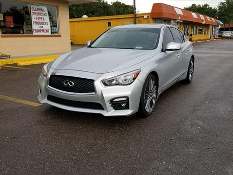 2016 Infiniti Q50 for sale at Turbo Toys in Tampa FL