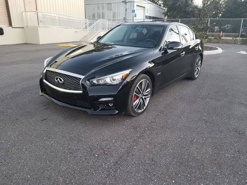 2017 Infiniti Q50 for sale at Turbo Toys in Tampa FL