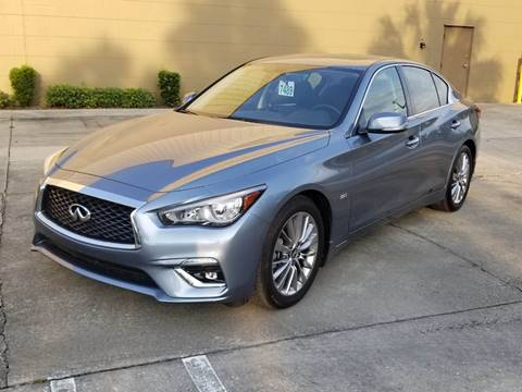 2018 Infiniti Q50 for sale at Turbo Toys in Tampa FL
