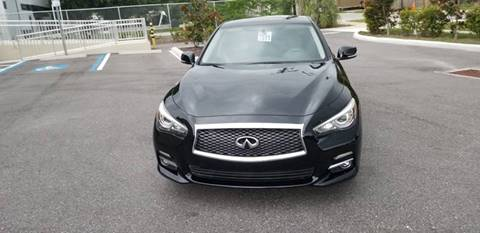 2015 Infiniti Q50 for sale at Turbo Toys in Tampa FL