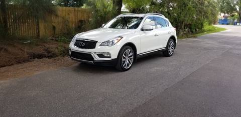 2017 Infiniti QX50 for sale at Turbo Toys in Tampa FL
